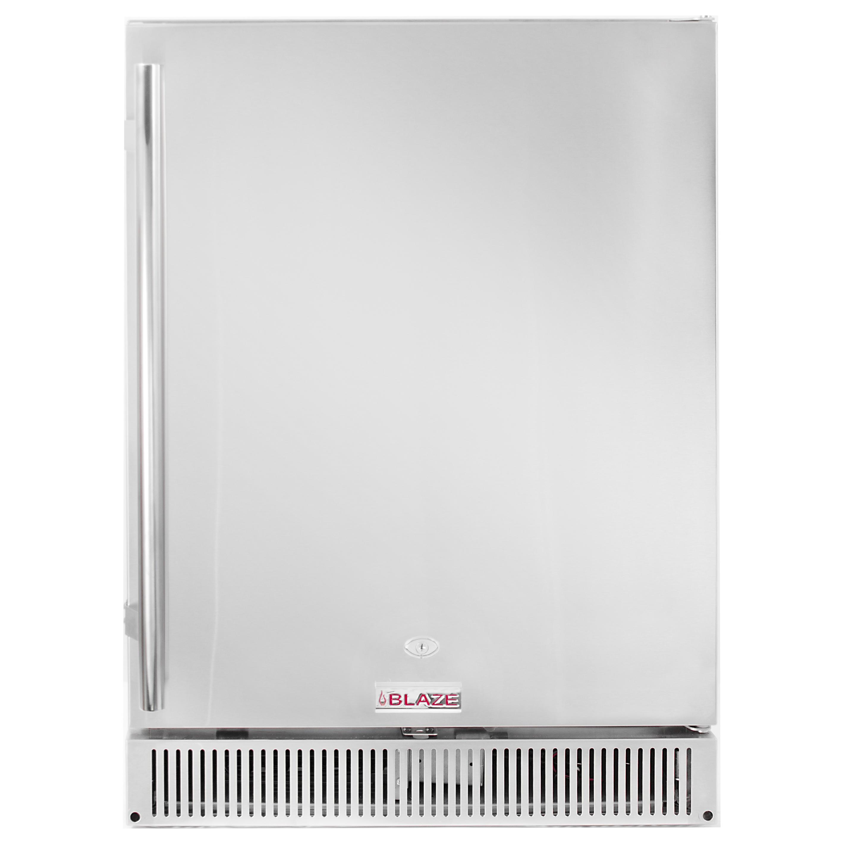 "Blaze Outdoor Rated Stainless 24"" Refrigerator 5.2 CU - Blaze Grills"