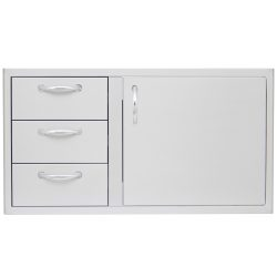 Blaze Drawer Door Combo 39""